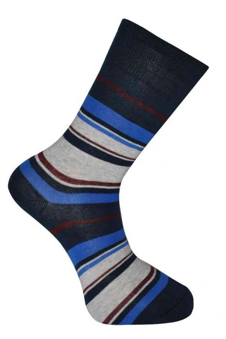 Дамски шарени класически памучни чорапи
