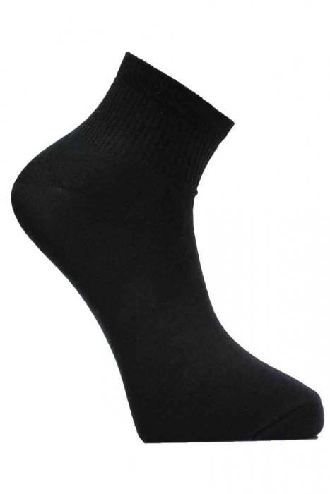 Мъжки памучни чорапи къс конч