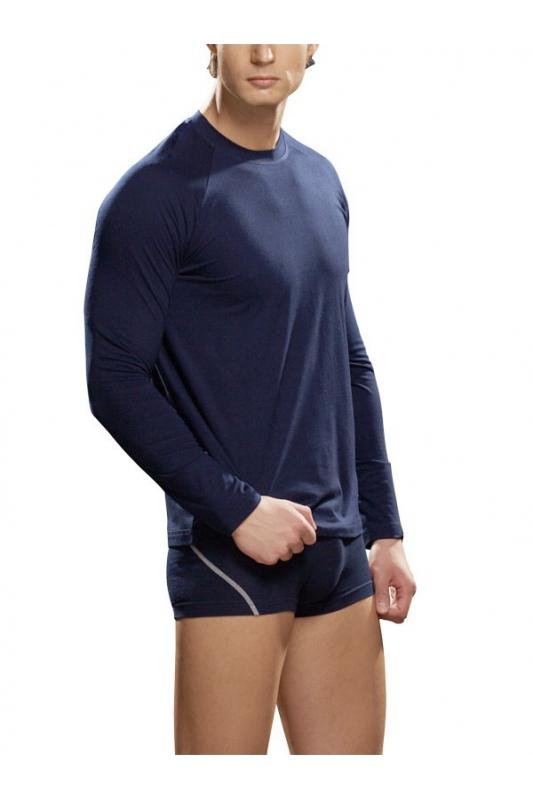 Мъжка Тениска Дълъг ръкав Памук Ликра Lord 286