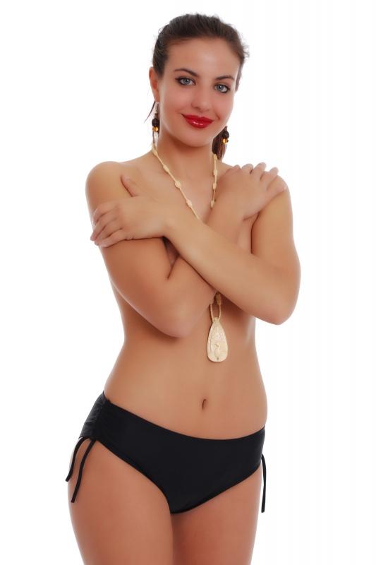 Долнище бански бикини - боксер с връзки в страни 106