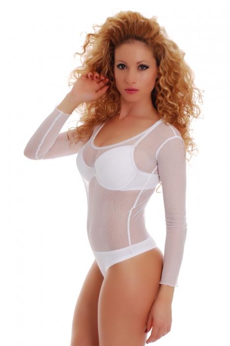 Дамско боди на Разпродажба 370 бяло