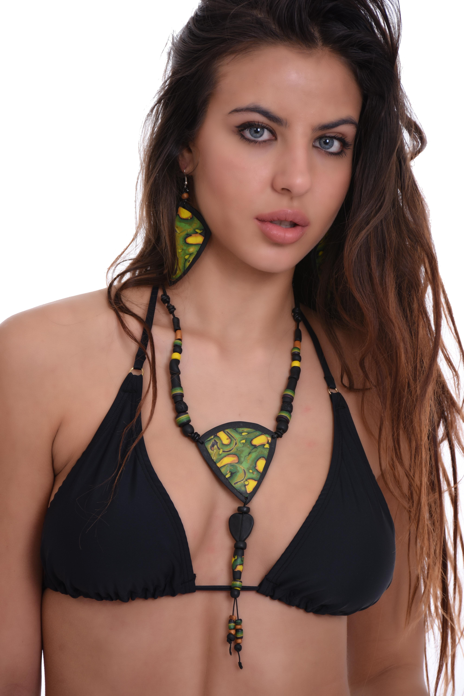 314a13ea4a7 Дамски бански горнище мек триъгълник с подвижна подплънка 701